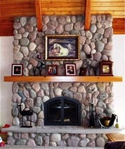 #OOR-01 River Rock Molds (12) Make 1000s Of Cement Stones For Fireplaces & Walls image 2