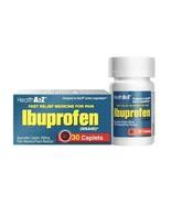 HealthA2Z Ibuprofen Tablets 200mg  -  Caplets - $2.98