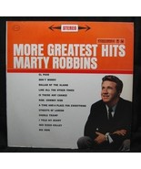 Marty Robbins More Greatest Hits Columbia Records - $4.99