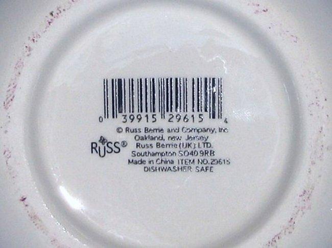 Russ Berrie Peace & Plenty Condiment Jar with Spreader Shamrocks