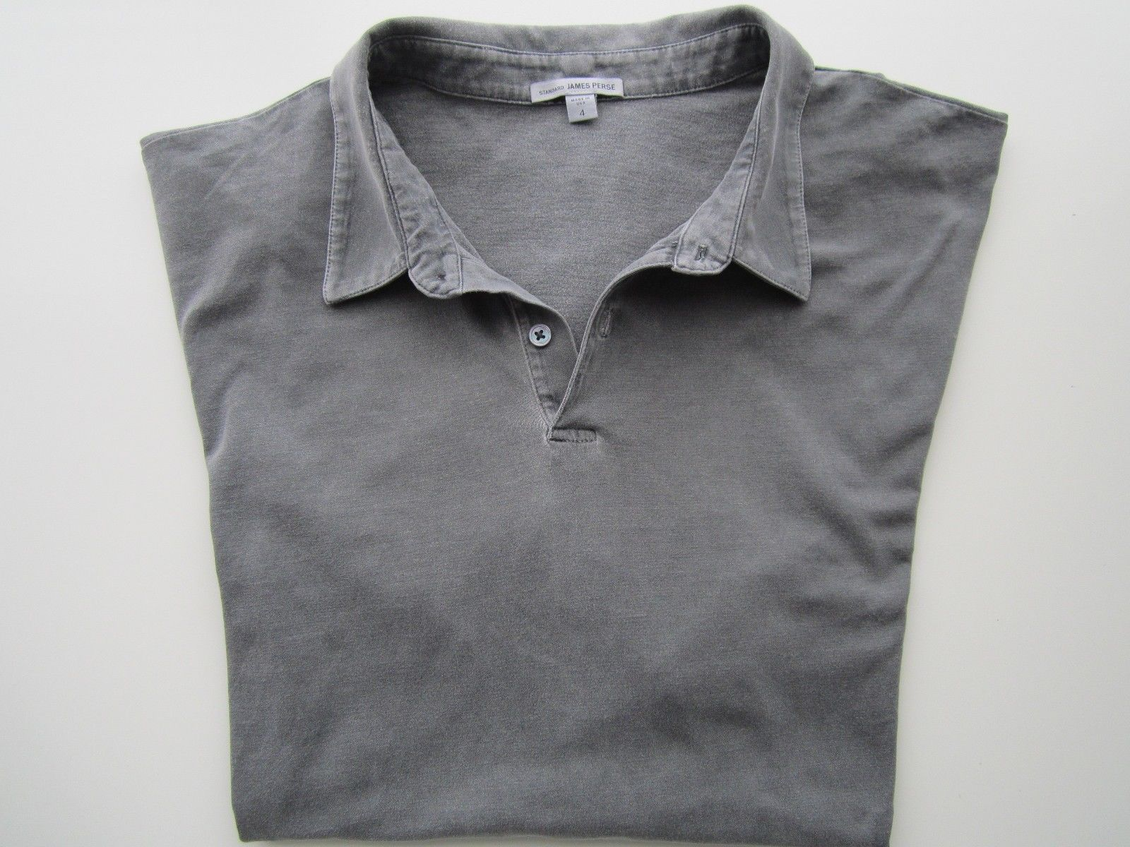 8486f66a667 S l1600. S l1600. Previous. James Perse Standard Solid Short Sleeve Men s  Polo T-Shirt ...