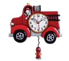 "Allen Design Studios ""Big Red"" Resin Wall Clock - $58.12"