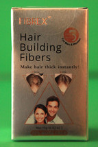 Fibrex hair fiber color dark brown 0.52 oz - $12.82