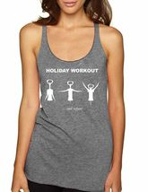 Holiday Workout Women's  Triblend Racerback Tank Top - $17.00
