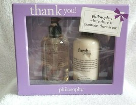 PHILOSOPHY Gift Set FRESH CREAM Hand Wash & Lotion NEW IN BOX - $35.00