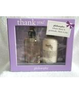 PHILOSOPHY Gift Set FRESH CREAM Hand Wash & Lotion NEW IN BOX - $35.00