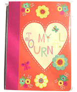 "80pg. Ruled My Journal/Heart Sheet Writer's Journal Diary 5"" X 7"" - $7.97"