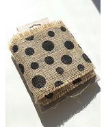 Burlap Polka-Dot Trim by Crafty Cuts®  for Mich... - $7.91