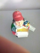 Dept 56 Village Collector Ornament - Man with Shopping Bag - $5.51