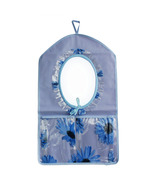 [Flowers Mirror] Blue/Wall Hanging/ Wall Organizers (11*18) - $11.99
