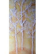 Stencil, Plaster Stencil Life Sized Sapling Tree Wall Stencil, Tree Sten... - $38.99