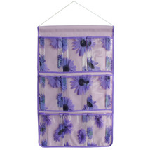[Sunflowers] Purple/Wall Hanging/ Wall Organize... - $13.99