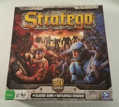 Stratego 50th Year Anniversary Board Game Hasbro Complete 2011 - $18.80