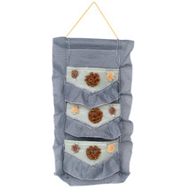 [Plaid & Lace] Blue/Wall Hanging/Wall Organizers (11*20) - $14.99