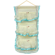 [Flower Bud Silk] Blue Lace/Wall Hanging (10*20) - $9.99