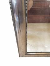 "Framed Silver Wall Mirror 23"" x 30"" Original Price $199 Rectangular Rectangle image 8"