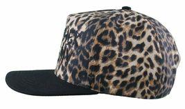Another Enemy Unisex Safari Leopard Print Adjustable Snapback Baseball Hat NWT image 4
