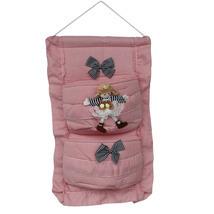 [Zebra & Doll] Pink/Wall Hanging/ Wall Organizers(11*18) - $14.99