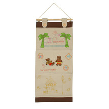 [Bear &House]Ivory/Wall Hanging/Wall Organizers... - $18.99