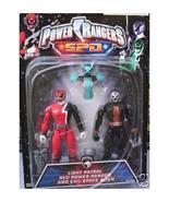 Power Rangers SPD Red Light Space Patrol + KRYBOT Rare NEW Action Figure... - $62.99