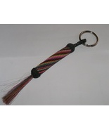 Braided Handmade Horse Hair Key Chain Ring Free Shipping - $35.00
