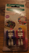 NEW IN PACKAGE POM POM MAKER SIZES 3/4 TO 1 INCHES - $4.00