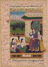 Rajasthani Miniature Painting Handmade Indian Maharajah Kite Festival Fo... - $99.99