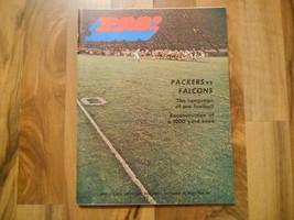 Old Vintage Sep 27 1970 Magazine Program Pro! Green Bay Packers Atlanta ... - $29.99