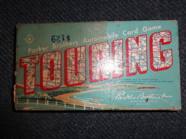 TOURING Parker Brothers Automobile Card Game vintage 1958 - $9.00