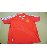 old red Jersey soccer Francia 2010 S. Adidas - $49.50
