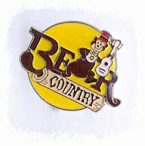 "Vintage DISNEYLAND BEAR COUNTRY Enamel Pin 1 1/8th"" - $3.00"