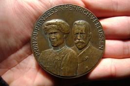 medal Trafalgar prince Heinrich V Prussia Hamburgo-Sudamerik By Hansen  - $197.01