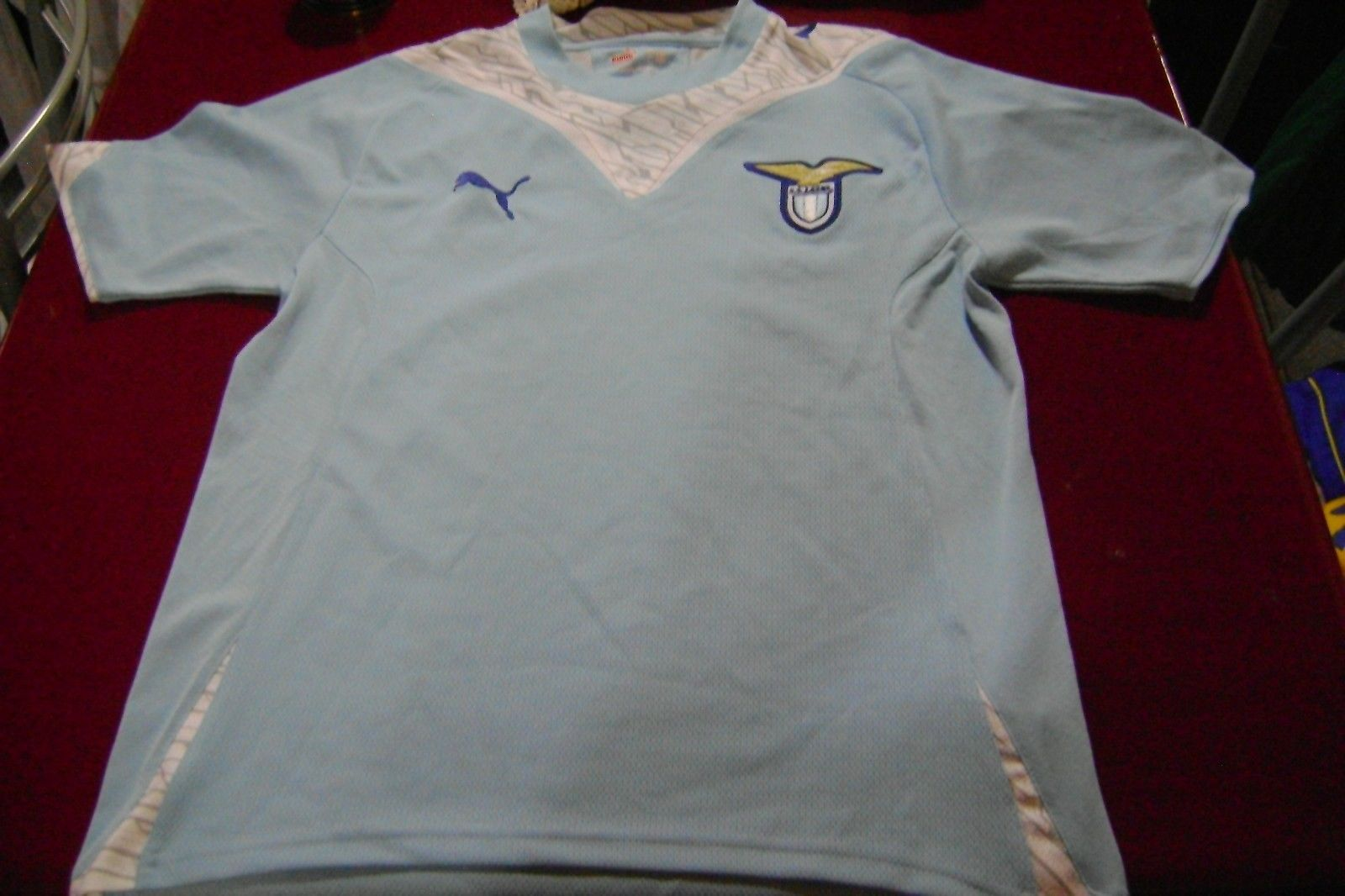 Primary image for soccer  old Jersey Lazio italy  puma size