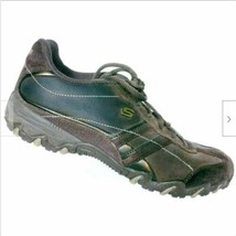 Skechers Women's Compulsions Brown Suede Leather Running Shoes Size 7.5 - $26.42