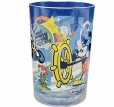 Walt Disney World drinking glass cup mug vtg 100 years Dopey Mickey Dona... - $23.98