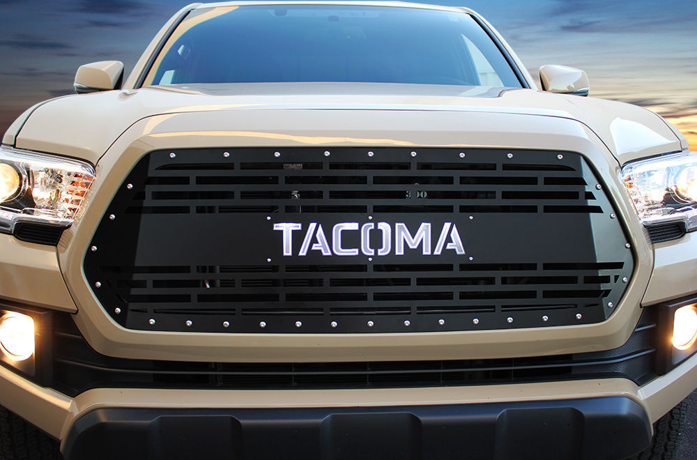 Custom grille toyota tacoma aftermarket steel grill