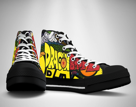 Dragon Ball Z Canvas Sneakers Shoes - $49.99