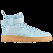 Nike SF Air Force 1 Mid Blue Ocean Bliss Youth Size 5.5Y Sneakers AJ0424... - $79.95