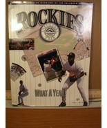 Rockies Scorecard Magazine Vol 1 No 6 1993 What a Year! - $5.39