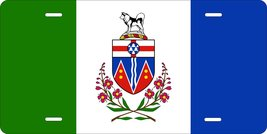 Yukon Canada Flag Personalized Custom Novelty Tag Vehicle Car Auto Motor... - $16.75