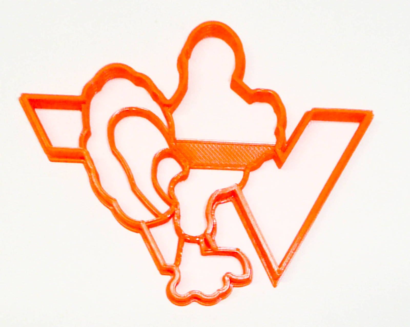 Primary image for Virginia Tech University VT Hokies Athletics Cookie Cutter USA PR3284