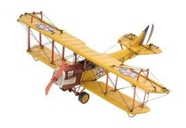 1918 Yellow Curtiss JN-4 1:24 Hancrafted Aviation Models - $69.85+