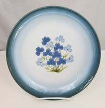 "Nikko Gradiance Dinner Plates Set of 4 Azure Leafette 10.5"" Dish Microwave Safe - $38.69"