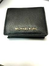 Michael Kors Jet Set Travel Medium Carryall Card Case Bifold Billfold Wa... - $45.09