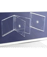 10 STANDARD Clear Double CD Jewel Case - $9.76
