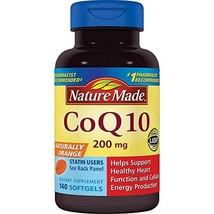 Nature Made Coq10 200 Mg, Naturally Orange, 1 Pack, 140 Count - $52.09