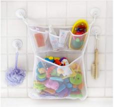 Bath Baby Toy Organizer Bathroom Tub Storage Mesh Bag - $8.73