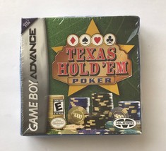 Texas Hold 'Em Poker Game Boy Advance Video Game New - $6.92