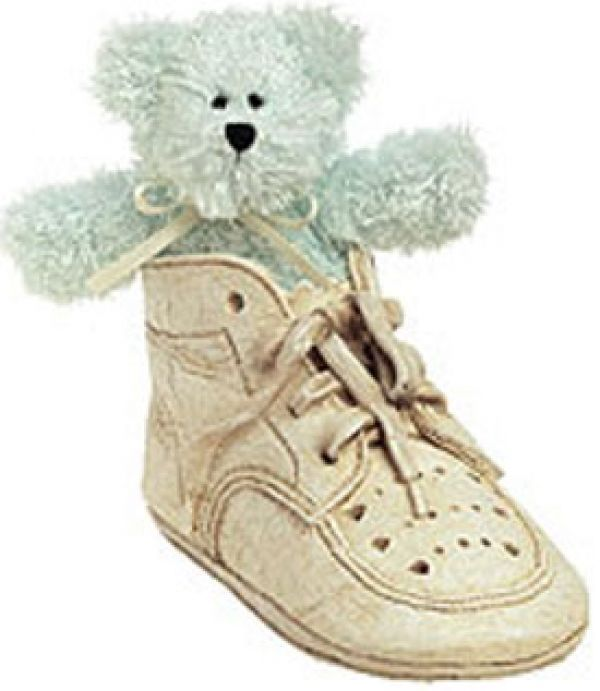 "Primary image for Boyds Bears ""Lissy ..Baby Steps"" Bear Foot Friends- #641008- New- 2002"