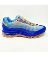Nike Air Max 95 Dynamic Flywire Light Blue Citrus Mens Sneakers 553554 400 - $149.95